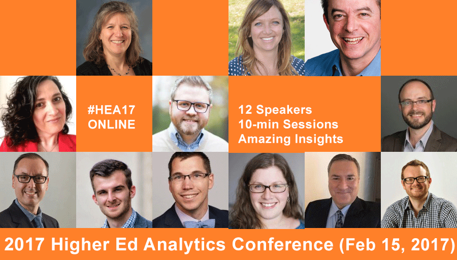 2017 Higher Ed Analytics Conference